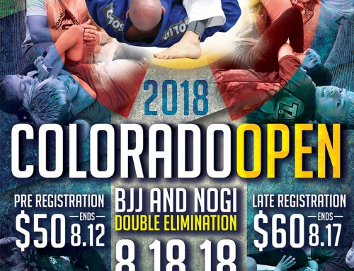 2018 Colorado Open Results