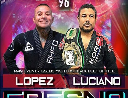 "Fight 2 Win 96 – Cleber Luciano Readies To Take On ""Halo"" Lopez For F2W Masters Title"
