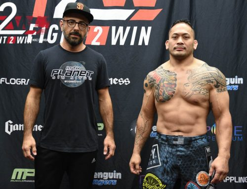 "Fight 2 Win 97 Competitor Bryant Pangelingan – ""Jiu Jitsu Makes Me Feel Alive"""